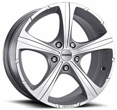 Cerchio Reds Black Knight 7,0X16 Et40 4X108 Silver