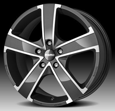 Cerchio Momo Win Pro Evo 7,0X17 Et38 5X120 Anthracite Glossy