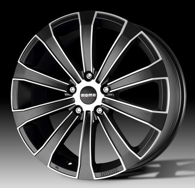 Wheel Momo Europe 8,0X17 Et40 5X105 Black Matt, Polished
