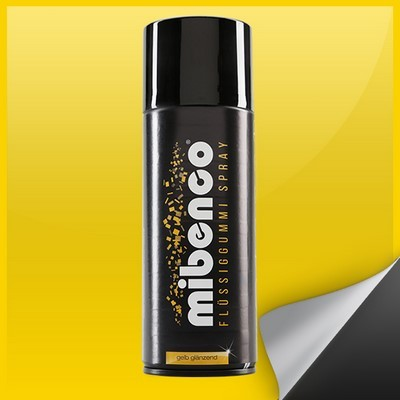 Mibenco Liquid Gummiertes 400 Ml Bright Yellow