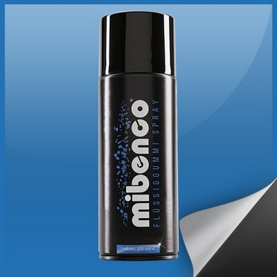 Mibenco Liquid Rubber Spray 400 Ml Bright Light Blue