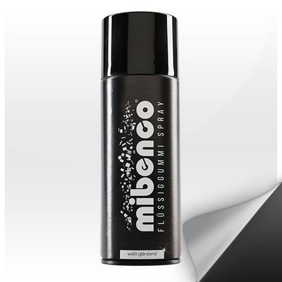 Mibenco Liquid Rubber Spray 400 Ml White Bright