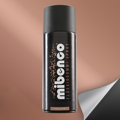 Mibenco Liquid Rubber Spray 400 Ml Metallic Copper Mate