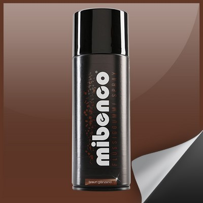 Mibenco Liquid Rubber Spray 400 Ml Brown Bright
