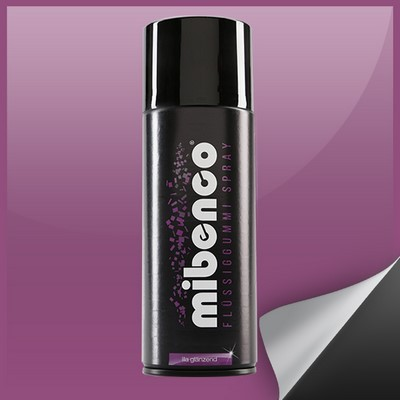 Mibenco Liquid Rubber Spray 400 Ml Purple Bright