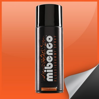 Mibenco Liquid Rubber Spray 400 Ml Orange Bright