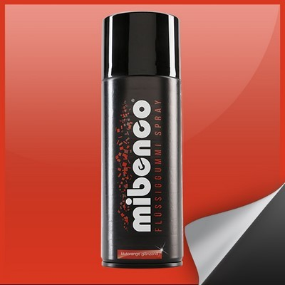 Mibenco Liquid Rubber Spray 400 Ml Blood Orange Bright