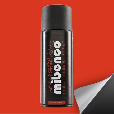 Mibenco Liquid Rubber Spray 400 Ml Blood Orange Mate