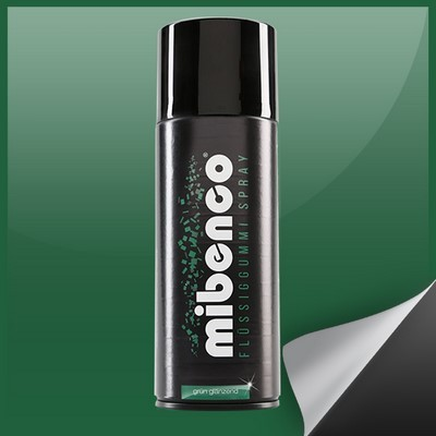 Mibenco Liquid Rubber Spray 400 Ml Green Bright