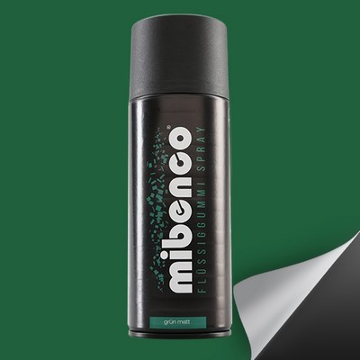 Mibenco Liquid Rubber Spray 400 Ml Green Mate