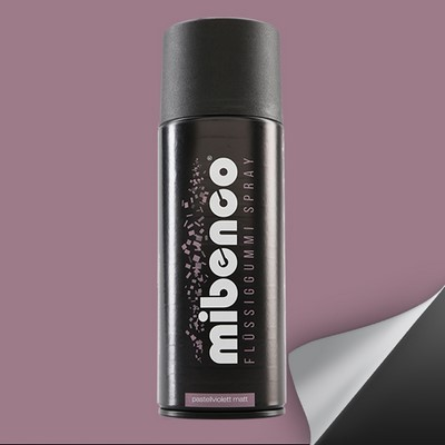 Mibenco Spray Goma Liquida 400 Ml Violeta Pastel Mate