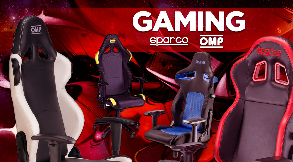 Omp, Sparco Sillas Gaming