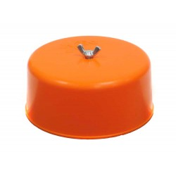 CARBURETOR COVER ORANGE K&N...