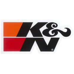 DECAL / STICKER K&N BLACK 3...