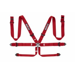 6PT P-3 PULL UP RED HARNESS