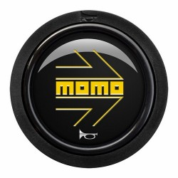 PUSHBUTTON MOMO ARROW LOGO...