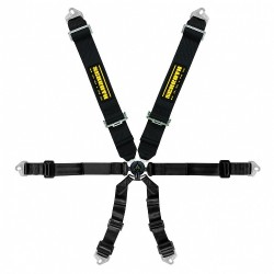 CLUBMAN HARNESS 3X2 BLACK...