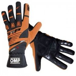 KS-3 GLOVES MY2018 ORANGE /...