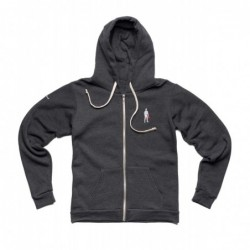 SUDADERA FULL ZIP DARK GRIS...