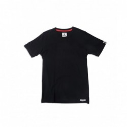 SHORT SLEEVE T-SHIRT BLACK...