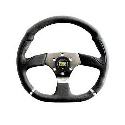 CHROME STEERING WHEEL WITH...