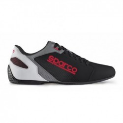 SHOES SL-17 SIZE 44 BLACK RED