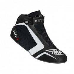 KS-1 BLACK / WHITE BOOTS...