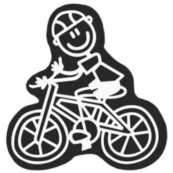 ADHESIVE FAMILY MAN BIKE CS5