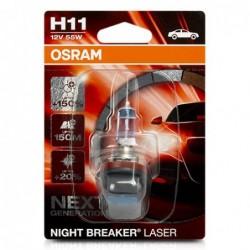 H11 1 NIGHT B LASER 55W12V...