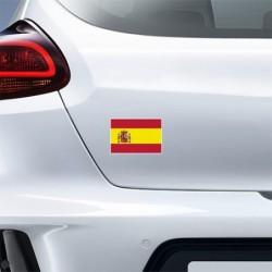 SPAIN FLAG STICKER 1 PC CS10