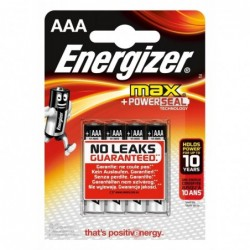 ENERGIZER MAX LR03 (AAA) BL4