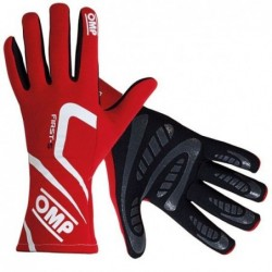 FIRST-S RED GLOVES SIZE M...