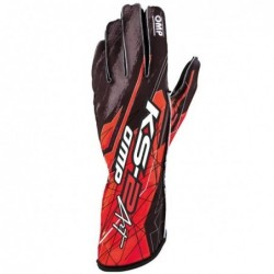 KS-2 ART GLOVES BLACK / RED...