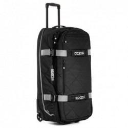 BLACK / SILVER TOUR BAG