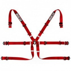 6PT HARNESS P-2 &quotRED...