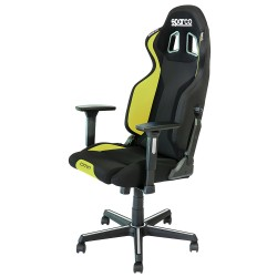 BLACK / YELLOW GRIP CHAIR