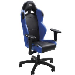 OMP MINI CHAIR BLACK / BLUE