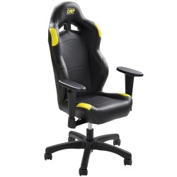 OMP MINI CHAIR BLACK / YELLOW