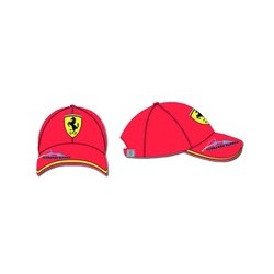 FERRARI CAP ALONSO F1 ONE SIZE