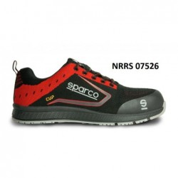 CUP S1P BLACK / RED SHOES...