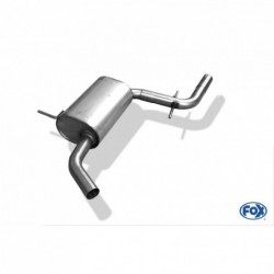 FOX EXHAUST PIPE AU051000-MSD