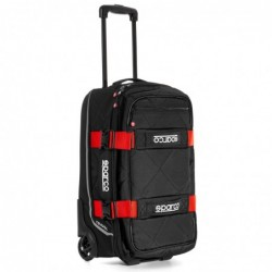 TRAVEL BACKPACK BLACK / RED...