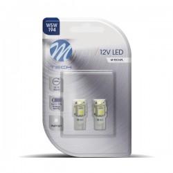 WHITE LED BULBS 12V W5W /...