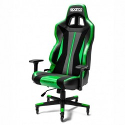 IMPERIAL CHAIR BLACK / GREEN