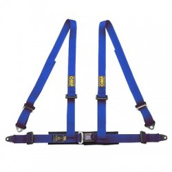 4 POINT HARNESS OMP BLUE...