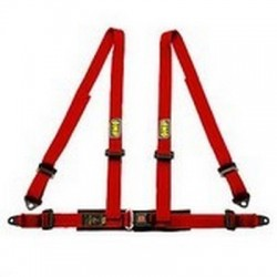 4-POINT HARNESS OMP RED ROAD 4