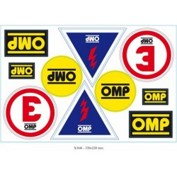 OMP SET ADHESIVES X...