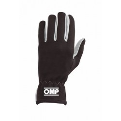 OMP RALLY BLACK GLOVES SIZE M