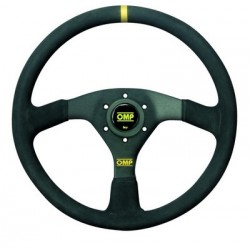 STEERING WHEEL OMP SUEDE...