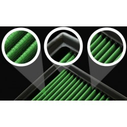 Kit aire Admision Directa Green Peugeot 206 2,0L Hdi 90Cv 99-06